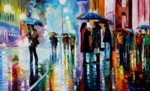 Bus-stop-under-rain