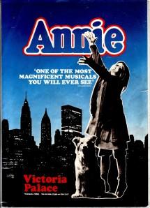 Annie Musical front